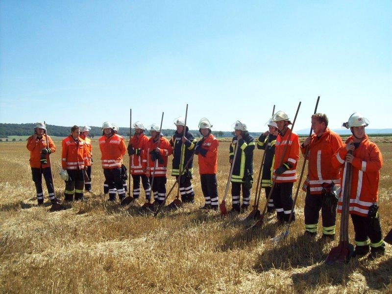 Flächenbrandbekämpfung mit @fire