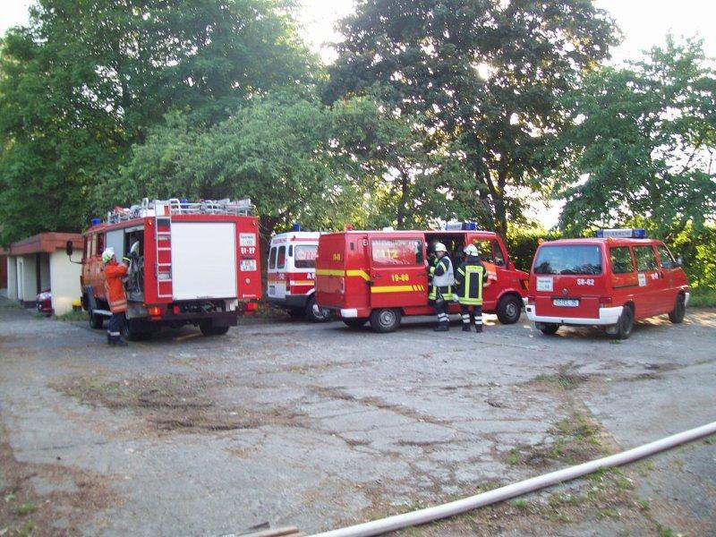 Einsatzübung in Ostharingen