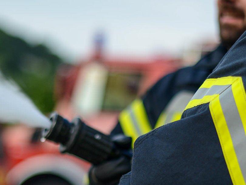 Alarmierung zum Zimmerbrand in Upen