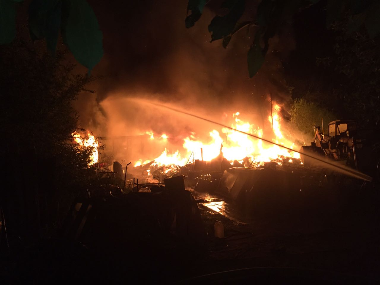 Großfeuer in der Othfresener Grubenstraße