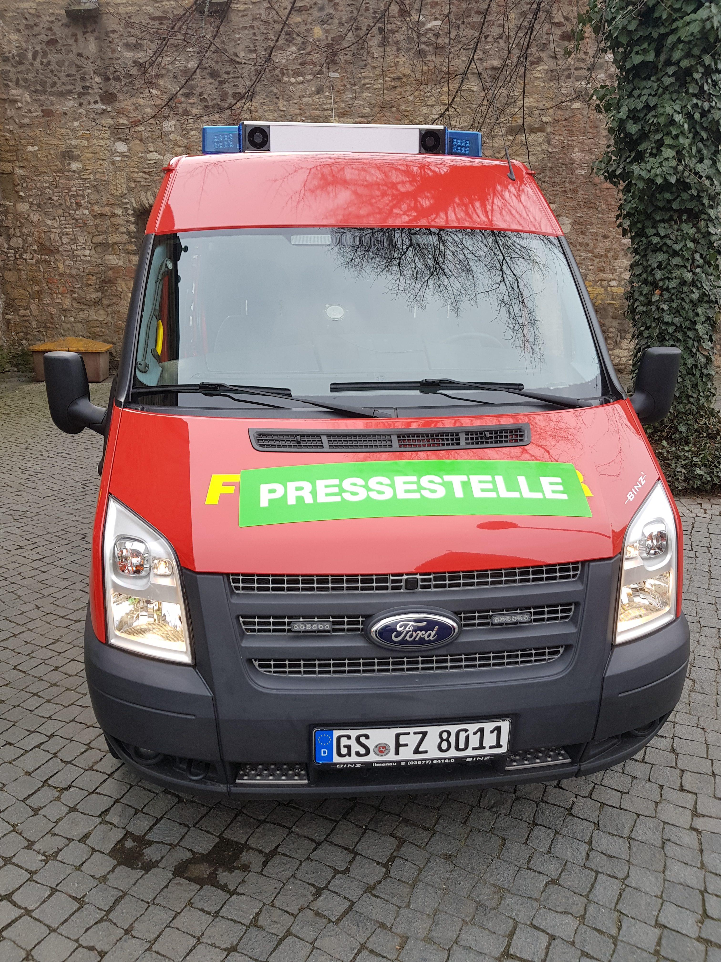 Feuer in Goslarer Altstadt