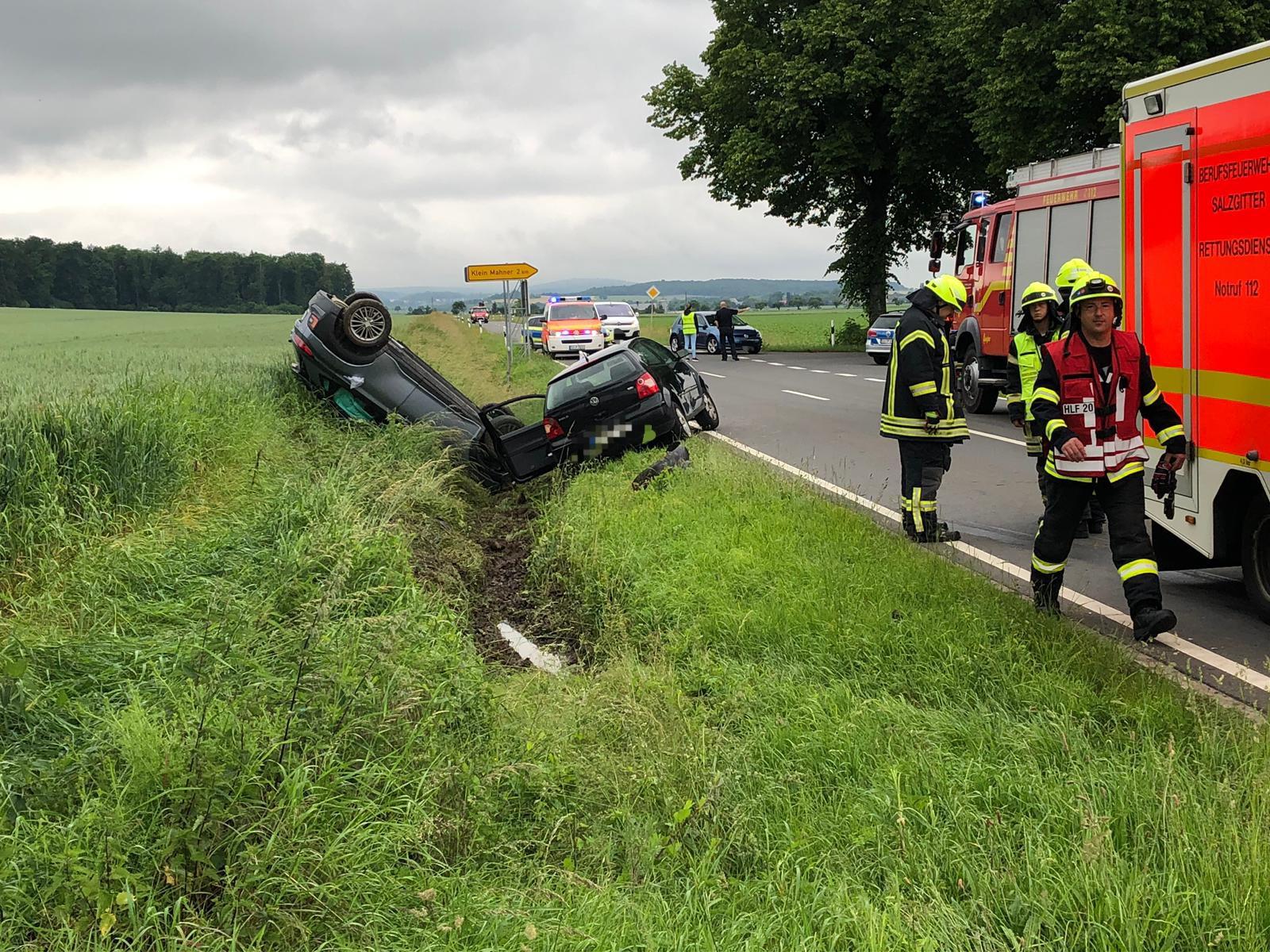Verkehrsunfall mit mehreren Verletzten