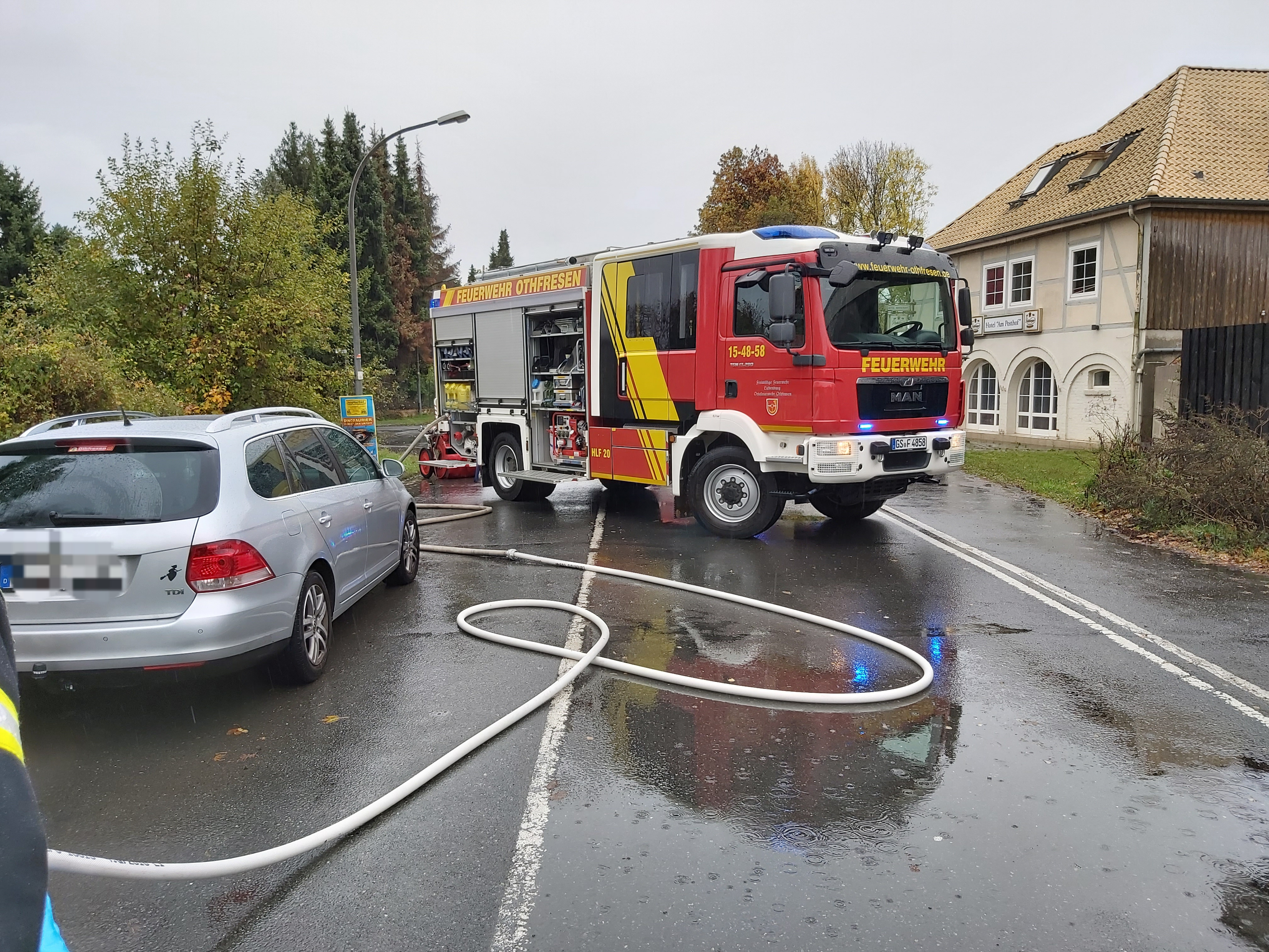"Verkehrsunfall auf der ""Posthofkreuzung"""