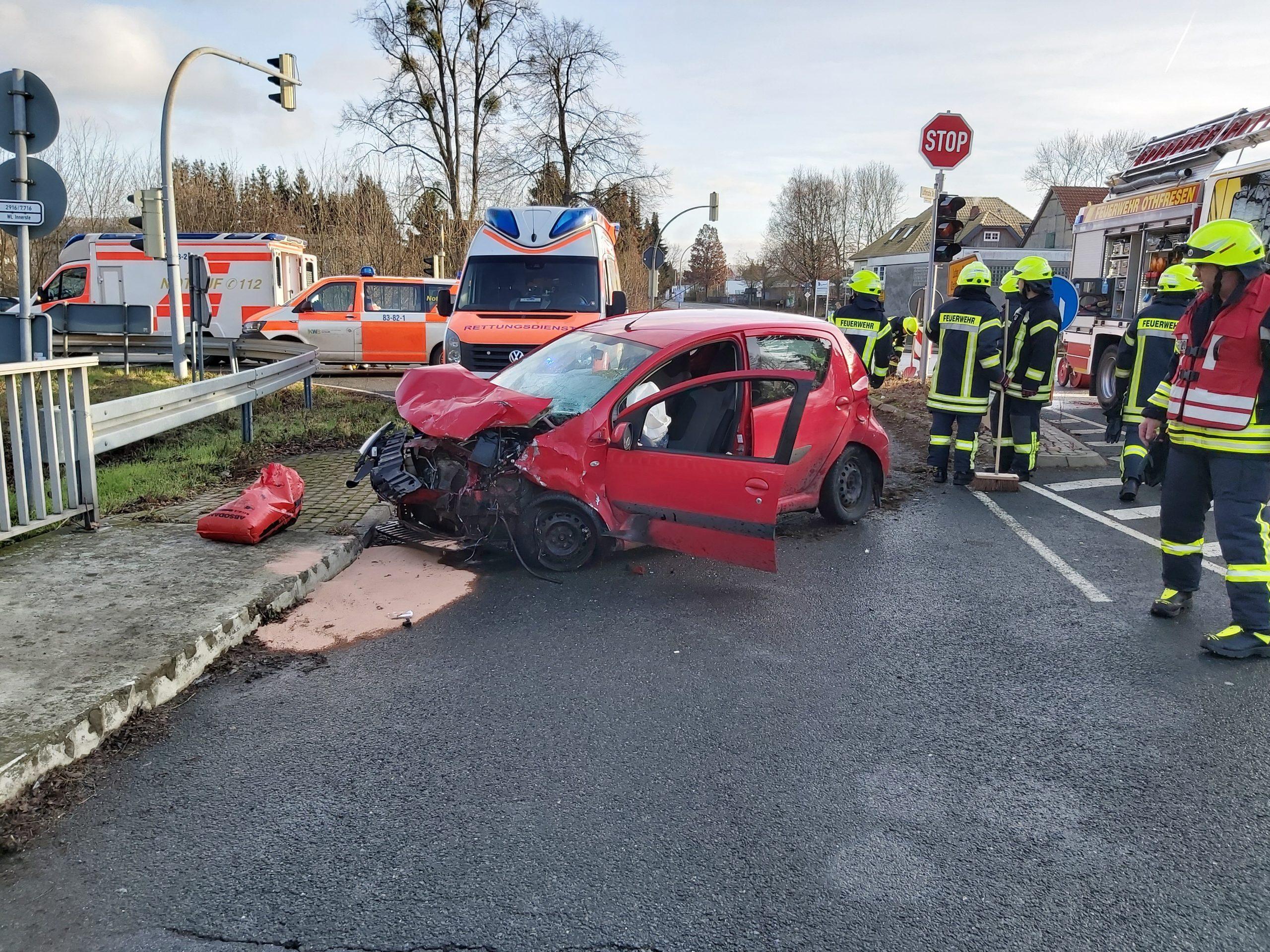 Verkehrsunfall am Posthof