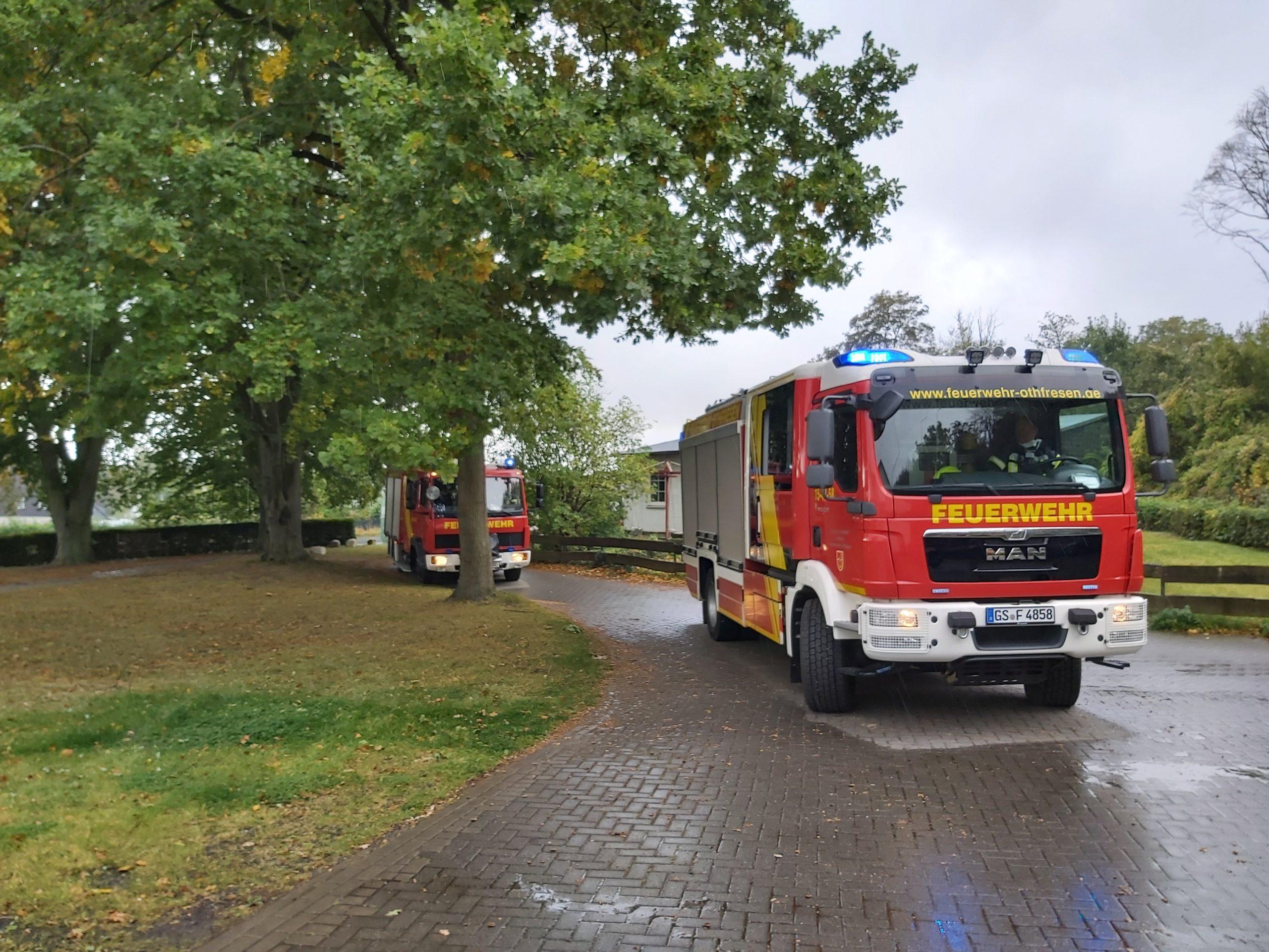 Feuerwehreinsatz durch Brandmeldeanlage