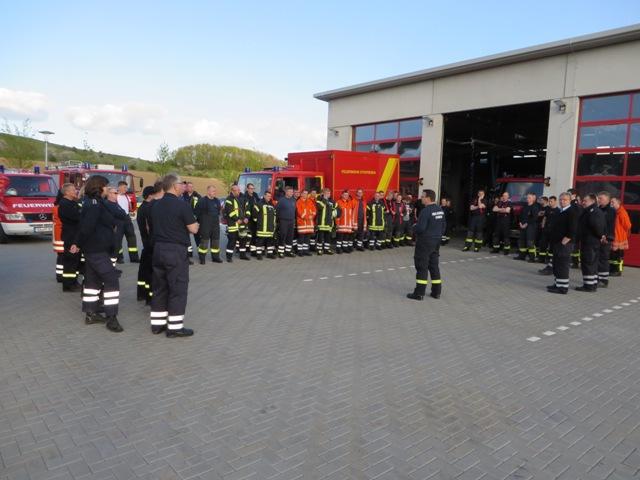 Gemeinsame Ausbildung der Löschzüge 15West und 58