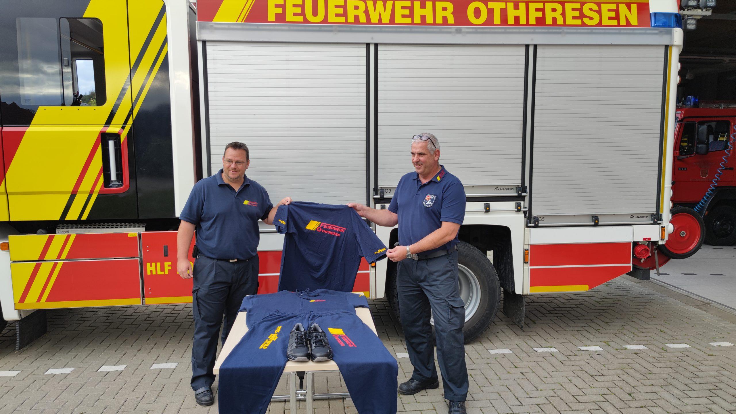 Feuerwehr erhält Wechselbekleidung